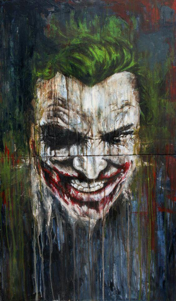 Airbrush Joker Wallpaper: 1000+ Ideas About Comic Art On Pinterest