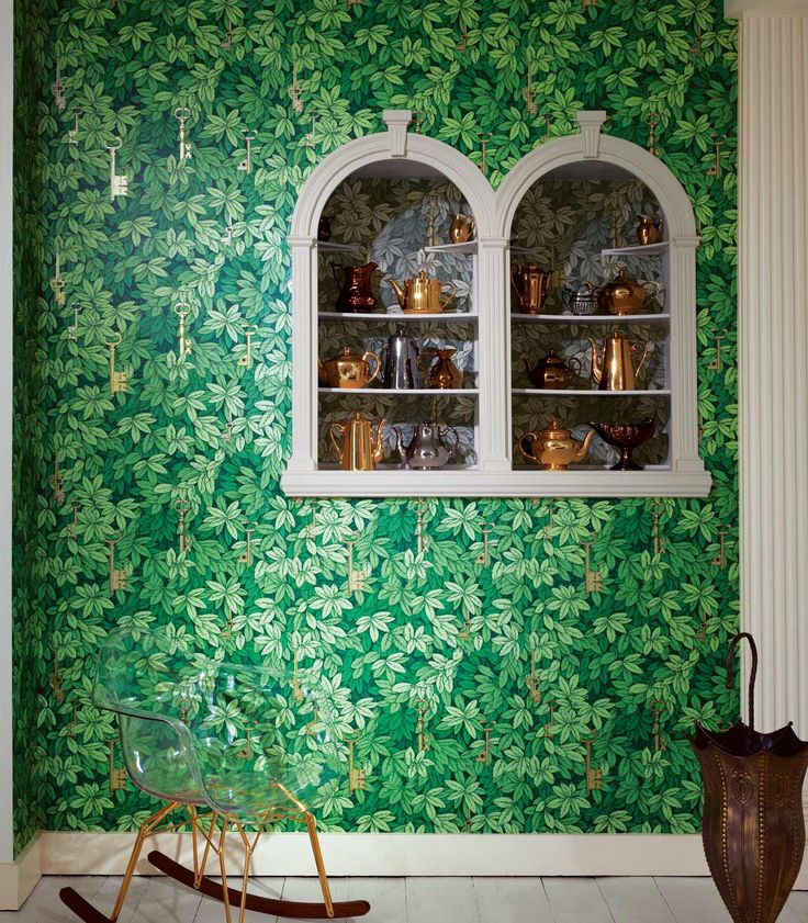Fornasetti II Chiavi Segrete Wallpaper, Cole & Son