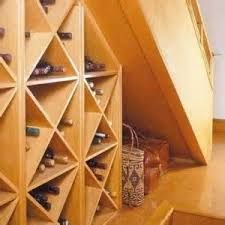 Image result for under stairs wine cellar