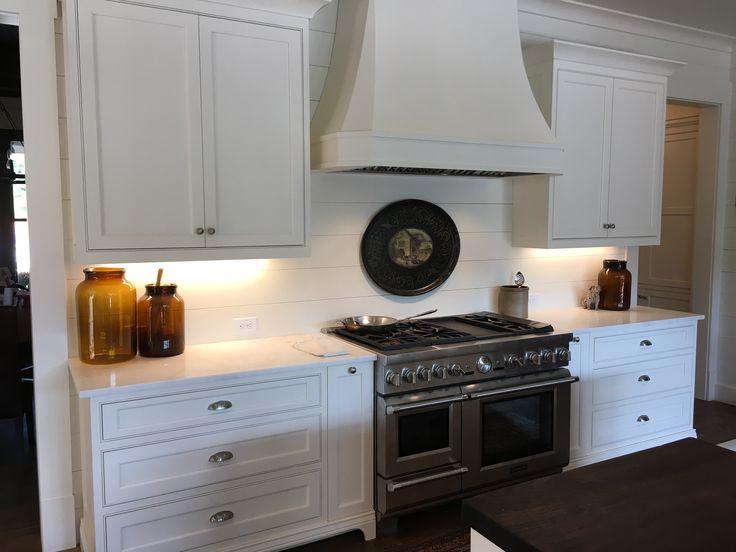 New Sherwin Williams Dover White Cabinets