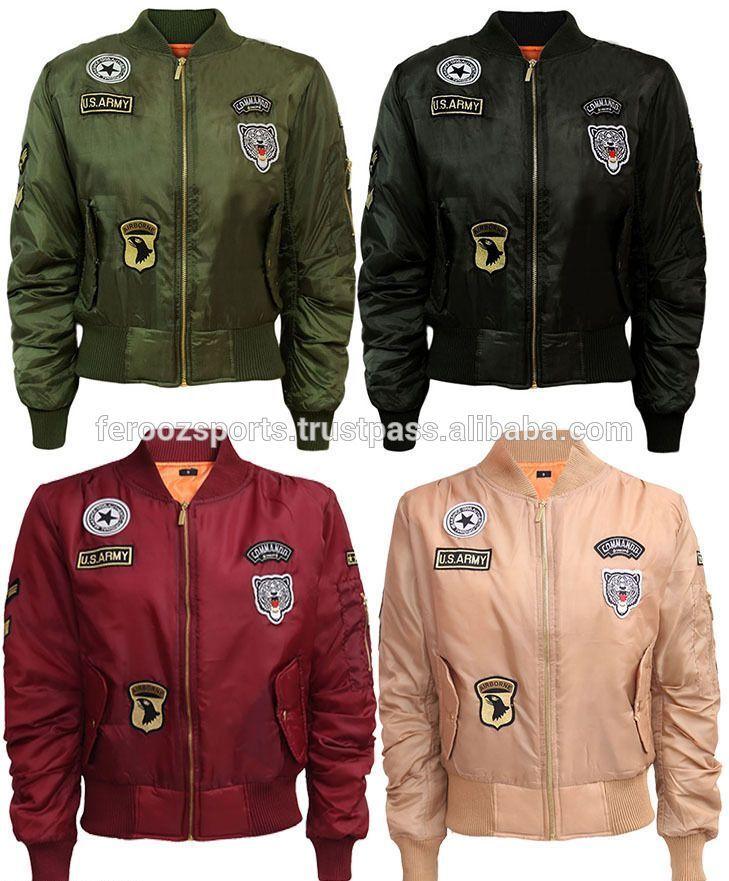 Check out this product on Alibaba.com App:Custom Patches Nylon Bomber jacket Ma-1 Flight jacket https://m.alibaba.com/6NBbQz