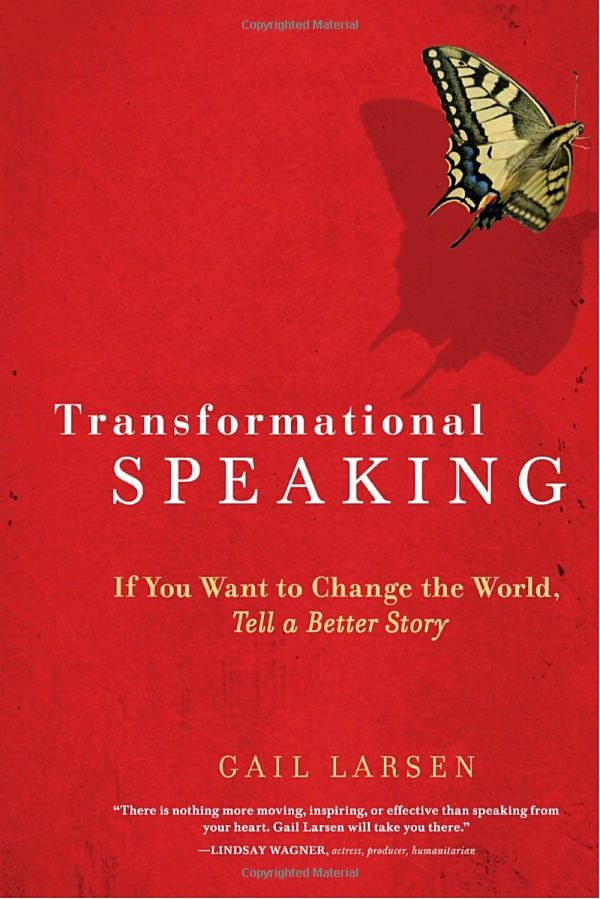 A must read if you want to change the world through speaking