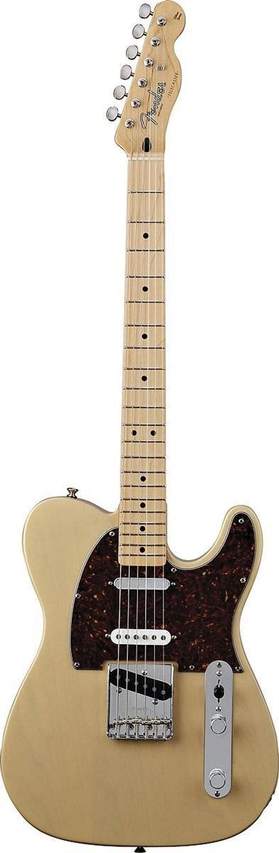 Fender Deluxe Nashville Telecaster As down-home and sophisticated as the city it's named for, the Deluxe Nashville Tele guitar comes with a Tex-Mex Stratocaster pickup in between two Tex-Mex Telecaste