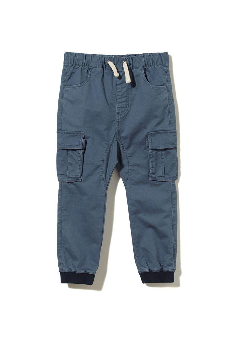Cargo Pants Kindy Blue/grey