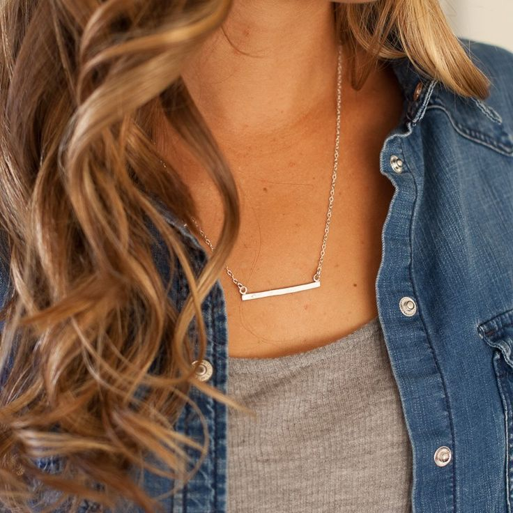 A cross bar provides stability, and that is what you provide for me. I am better with you! This gorgeous necklace is hand-crafted in sterling silver and hand-set with up to 7 stones just for you {your choice of cubic zirconia or genuine diamonds