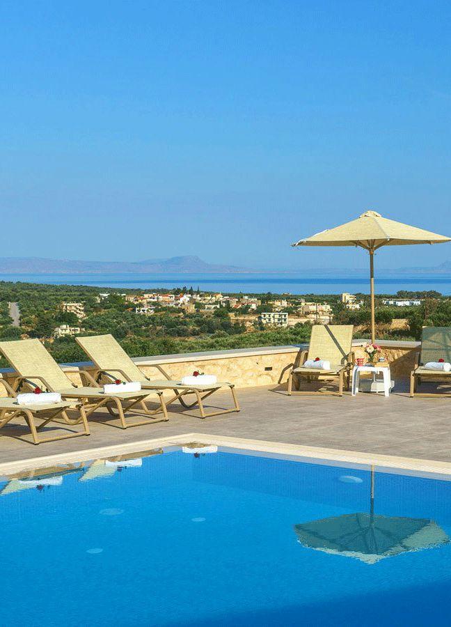 Villa Castle in Asteri, Rethymno, Crete