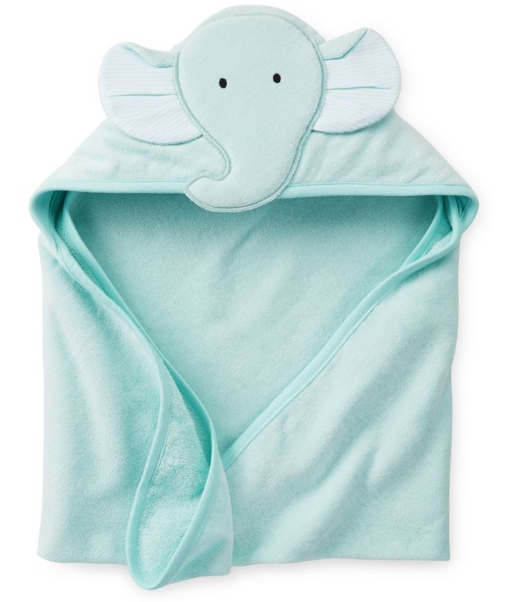 Wrap Your Baby In This Carter 39 S Soft Cotton Velour Bath Towel A Soft Jersey Lined Hood Will