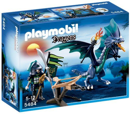 9€ Playmobil - 5484 - Figurine - Dragon Avec Guerrier Playmobil http://www.amazon.fr/dp/B00B3QT6RS/ref=cm_sw_r_pi_dp_La5uwb1MD8QX9