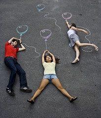 Next photo shoot: a chalk photo shoot