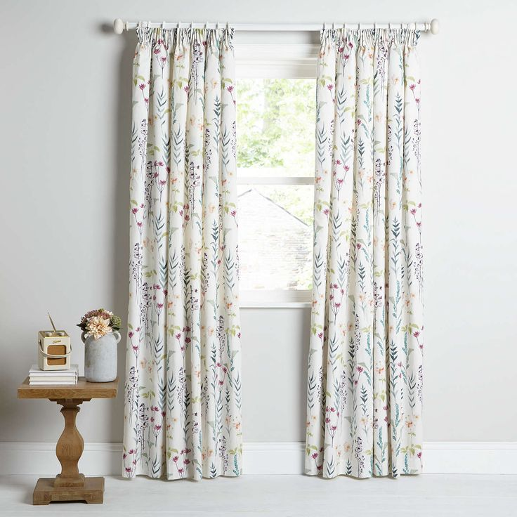 BuyJohn Lewis Longstock Lined Pencil Pleat Curtains, Multi, W228 x Drop 137cm Online at johnlewis.com