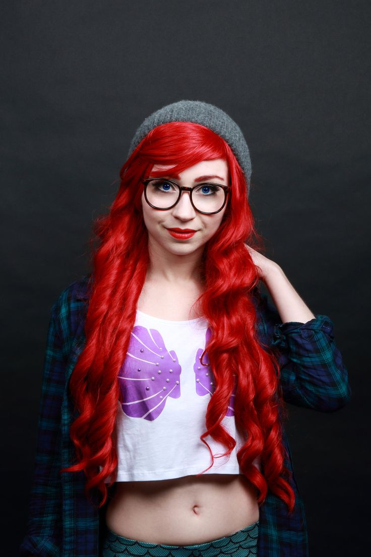 Hipster Ariel #05 by https://www.facebook.com/PhobosCosplay Phobos-Cosplay.deviantart.com on @DeviantArt