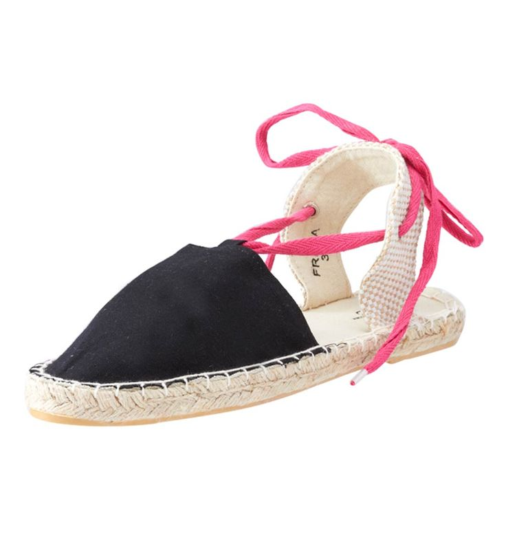 FFC New York Fresa Espadrille Shoes Black