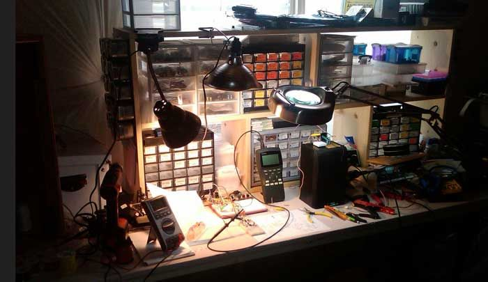 Setup your Electronics Garage : Basic Tools and Components Required