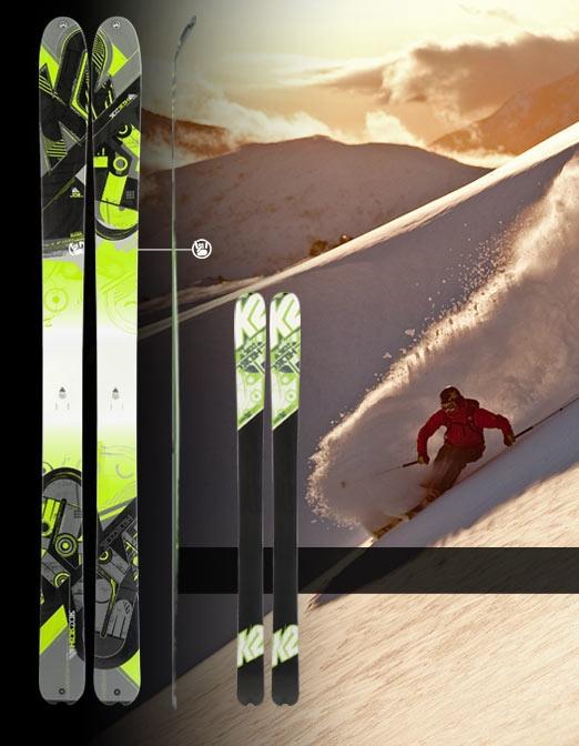 2011-2012 K2 Sidestash Skis