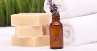 Jabón natural limpiador de aceite de nim