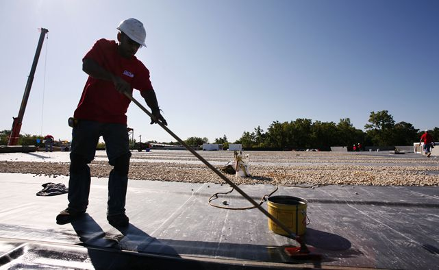 Flat Roof Repair | The Roofers - Commercial roofing services