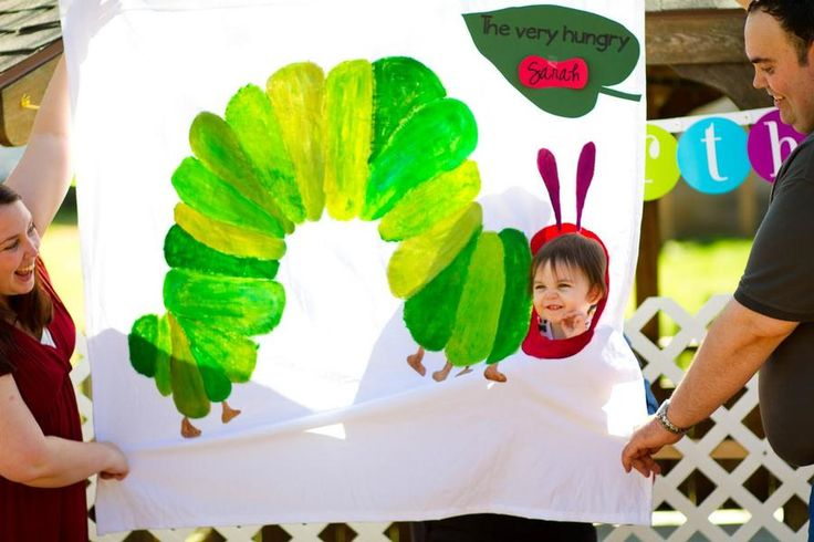 Hungry Caterpillar photo booth