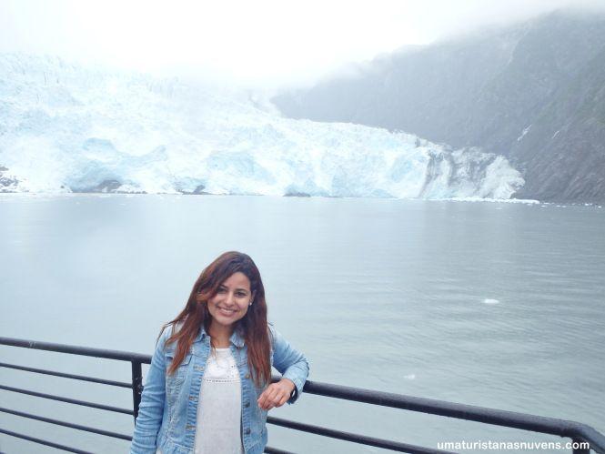 Cruzeiro no Alasca pelas geleiras