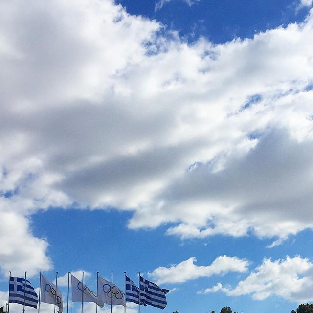 Clouds and blue sky! #Athens #winter Photo credits: @athens_city