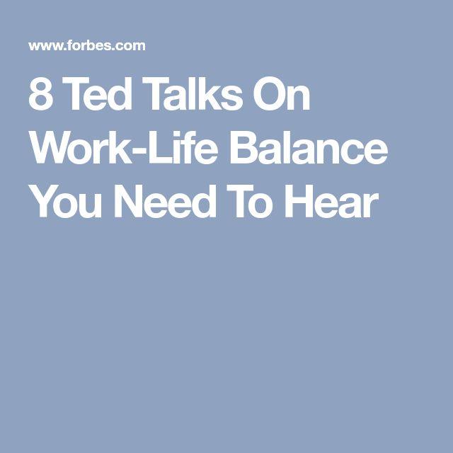 8 Ted Talks On Work-Life Balance You Need To Hear