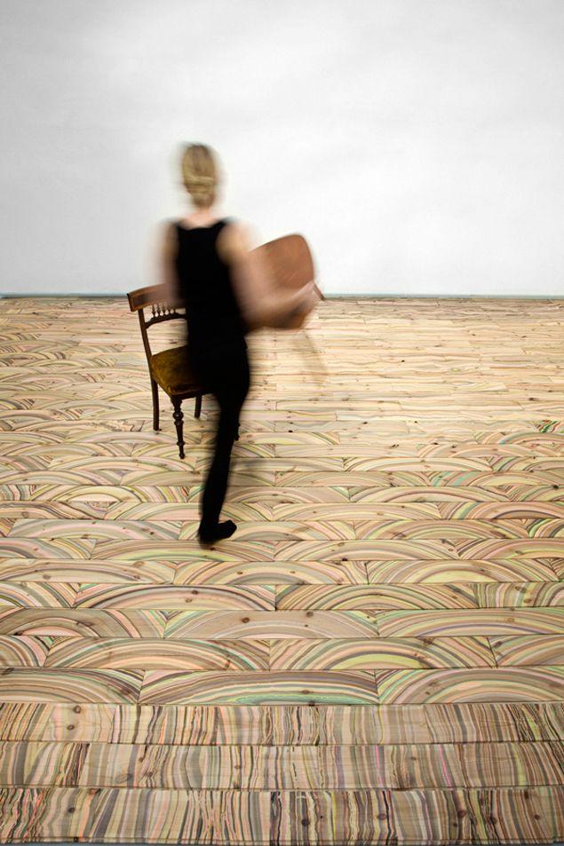 Snedker Studio: Floors Patterns, Wood Grains, Studios, Interiors Design, Marbel Wood, Wood Floors, Floors Design, Paintings Floors, Marbles Wood