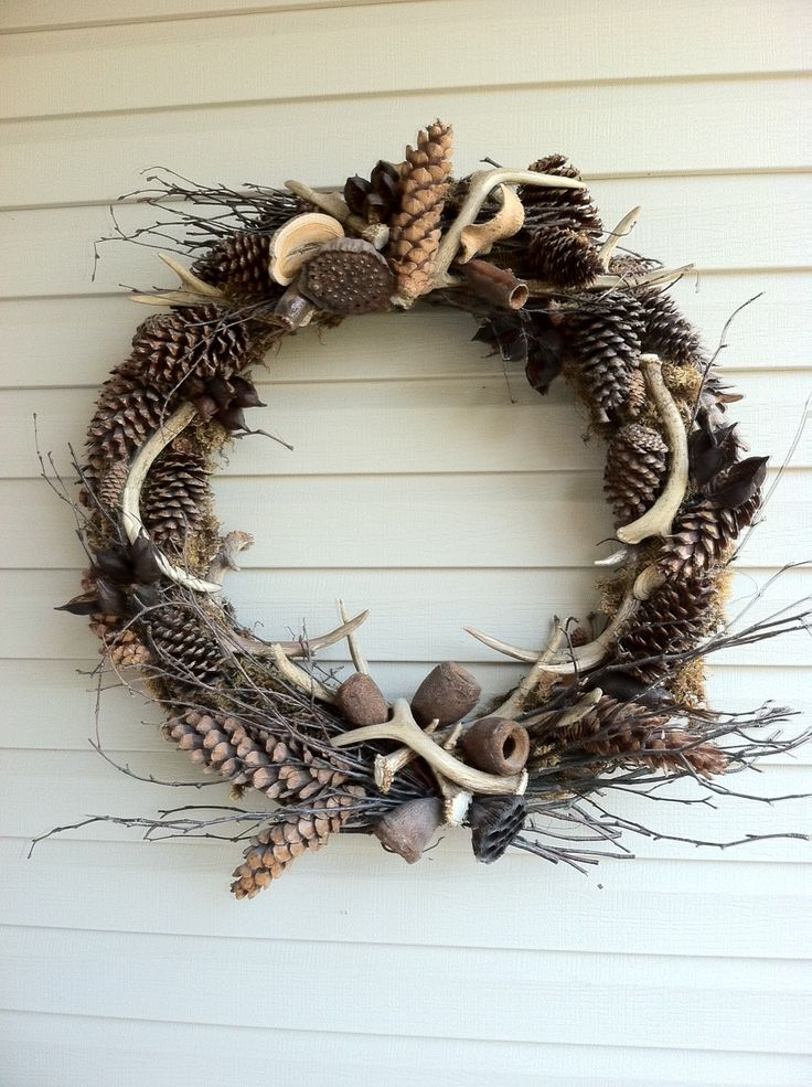 antler wreath | Antler wreath