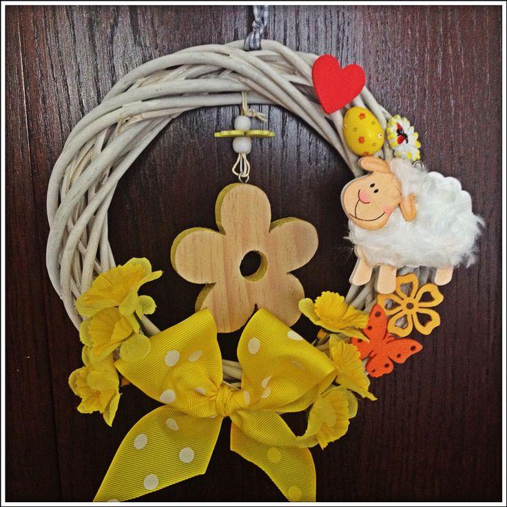 Jarní věnec žlutý :)