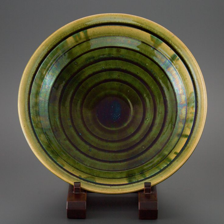 織部刻文大皿 Platter with engraved, Oribe type 2013