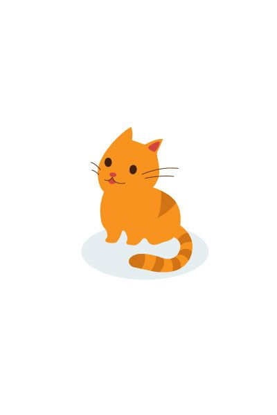 Kitten Vector Image #kids #vectorimage #baby #character #kitten http://www.vectorvice.com/kids-baby-vector