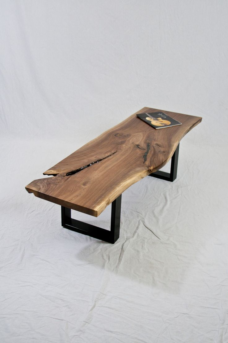 Cool wood coffee tables - Find This Pin And More On Furniture Love Anything With A Live Edge Cool Coffee Table