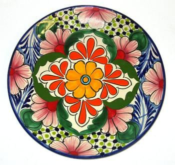 #talavera #mexican #plates #kitchen