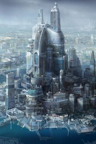 Future City #concept #art