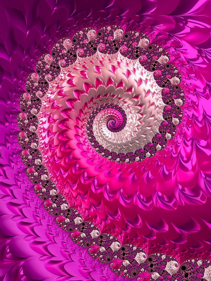 Happy and joyful abstract pink, purple and red spiral art based on a fractal, colorful vivid and vibrant modern artwork.  Imagine a large art print of this lovely vortex sending out waves of passion, dreams, hope and love hanging in your bedroom or in a child's or teen room. Enjoy this luxe and girly work of fractal art all day long. Available as poster, framed fine art print, metal, acrylic or canvas print. (c) Matthias Hauser hauserfoto.com