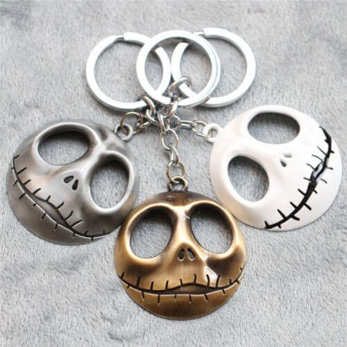The Nightmare Before Christmas Jack Key Chain Ring
