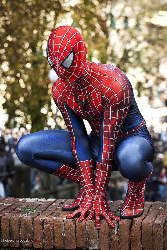 Cosplay Spiderman