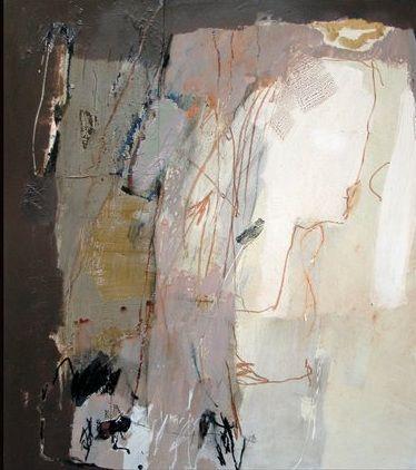 "Maria Balea, ""Bride"", acrylic on canvas"