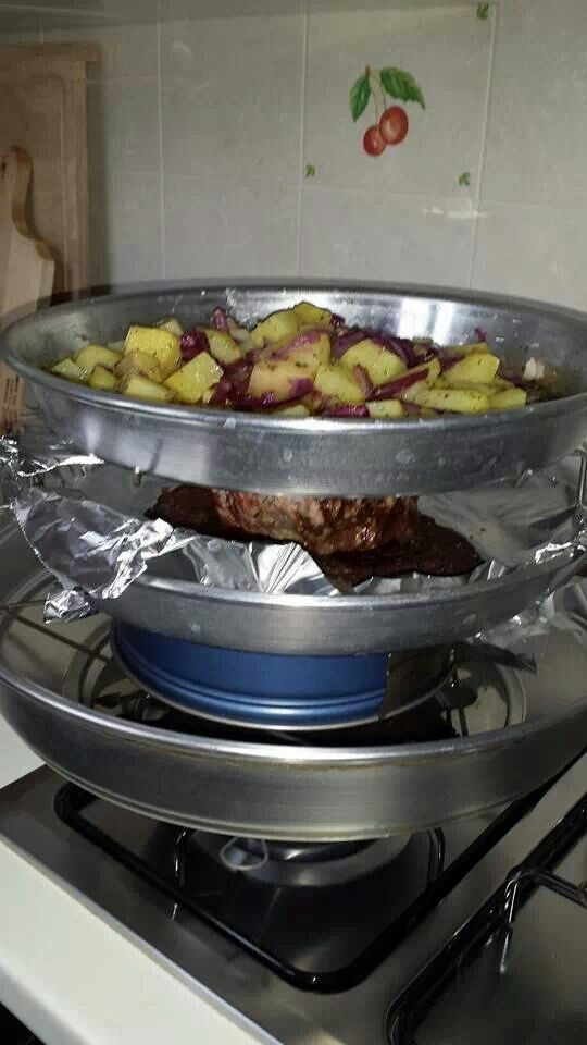 Roast beef e patate / 1 ora 30  minuti