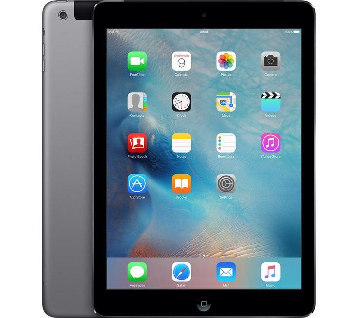 Планшет apple ipad air 64gb wifi a7 9.7 retina gray apple iphone восстановленный