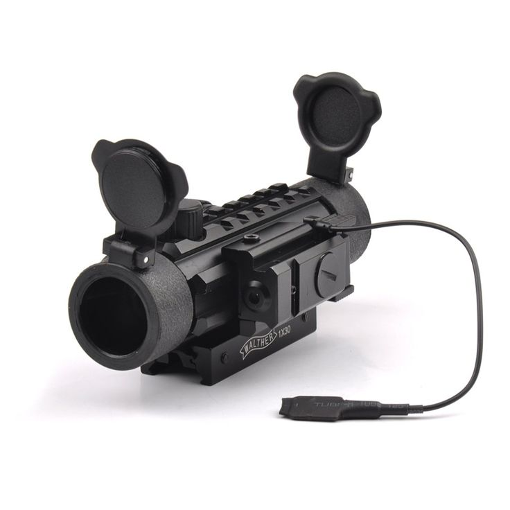Tactical Green Red Dot Scope 1X30 Optic Scope Sight with Red Dot Laser Sight of 20mm Mount for Airsoft Rifle   Shotguns //Price: $70.99 & FREE Shipping //     #tacticalgear #survivalgear #tactical #survival #edc #everydaycarry #tacticool