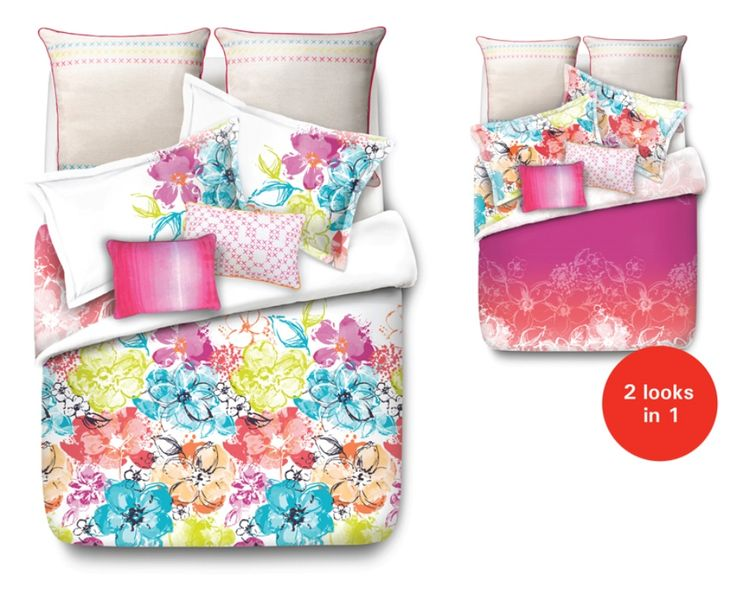 Summer Bloom Bed Linen by Esprit from Harvey Norman NewZealand