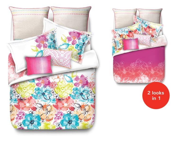 Summer Bloom Bed Linen by Esprit from Harvey Norman NewZealand