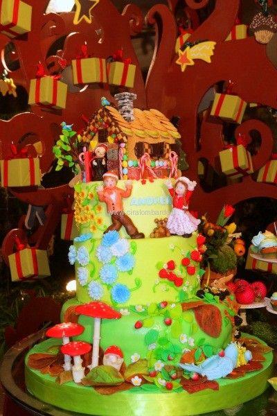 Cake desing Hansel e Gretel