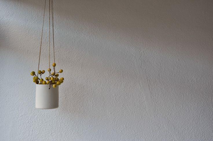 ❍ Porcelain plant hanger by Otchipotchi x WSAKE . February 2015