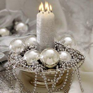 Decoración de Mesas en Navidad y Nochevieja - Año Nuevo                                                                                                                                                                                 Más