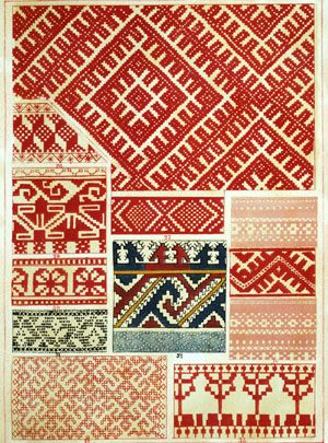 A little more russian embroidery...
