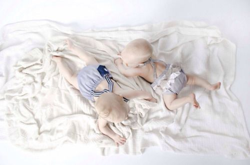 My sister precious little twins