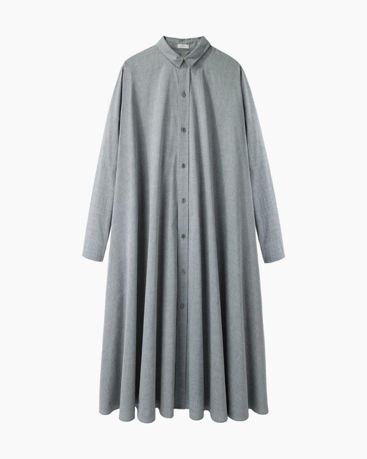 6397 Pleated Shirtdress