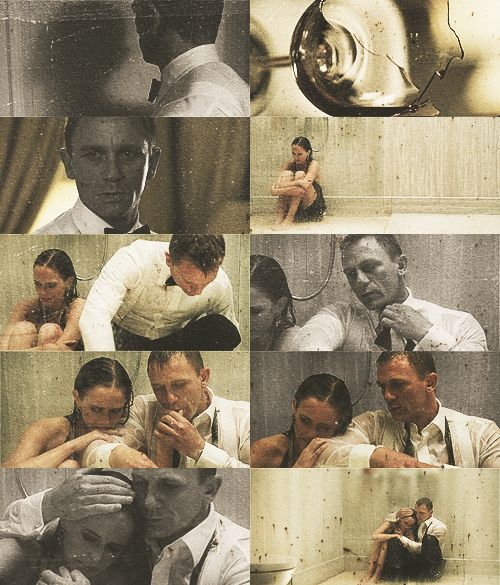 Daniel Craig  Eva Green  Casino Royal  James Bond  Vesper  Bond girl
