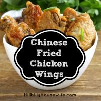 I'm looking for a recipe for chinese fried chicken wings. I know they must do something to them before they fry them. I've tried just frying plain wings and the flavor is just not there. Not looking for a coated fried wing like one local place has. Maybe I'm using the wrong oil, but my …