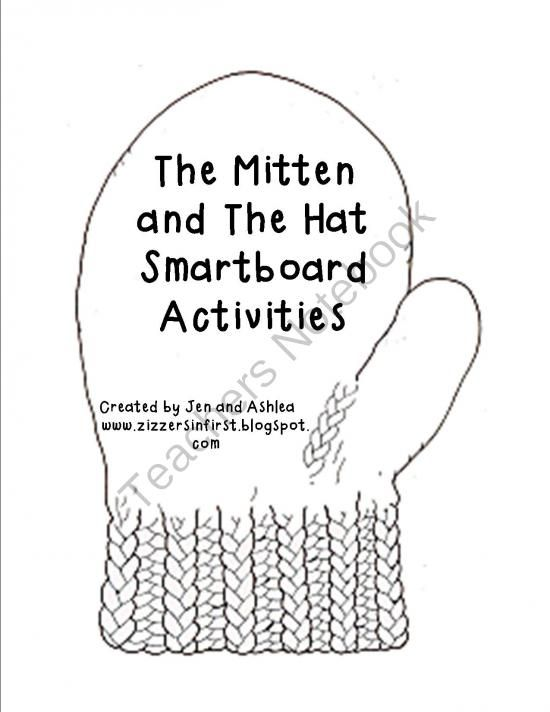 Jan Brett- The Hat and The Mitten Smartboard Activities from Zizzers In First on TeachersNotebook.com -  (6 pages)  - These slides include interactive activities that go along with the Jan Brett stories The Hat and The Mitten.